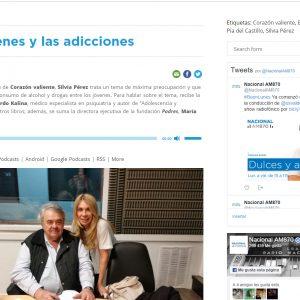 Los jóvenes y el acohol, F. Padres en Radio Corazón de Paraná